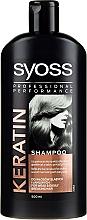 Voňavky, Parfémy, kozmetika Šampón pre suché vlasy a neživé vlasy - Syoss Keratin Hair Perfection