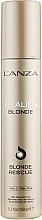 Voňavky, Parfémy, kozmetika Rekonštrukčný krém pre odfarbené vlasy - L'anza Healing Blonde Rescue