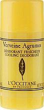 """Voňavky, Parfémy, kozmetika Deodorant-stick osviežujúci """"Verbena"""" - L'Occitane Verbena Deodorant Stick"""