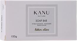 """Voňavky, Parfémy, kozmetika Kusové mydlo """"Horká oliva"""" na ruky a telo - Kanu Nature Soap Bar Bitter Olive"""