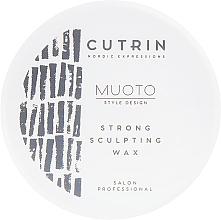 Voňavky, Parfémy, kozmetika Modelačný vosk na vlasy - Cutrin Muoto Strong Sculpting Wax