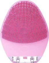 Voňavky, Parfémy, kozmetika Kefa na čistenie tváre, BR-040, ružová - Lewer Silicone Facial Cleansing Brush