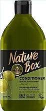 Voňavky, Parfémy, kozmetika Kondicionér s olivovým olejom pre starostlivosť o dlhé vlasy - Nature Box Conditioner Olive Oil
