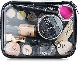 """Voňavky, Parfémy, kozmetika Kozmetická taška priehľadná """"Visible Bag"""" 20x15x6 cm (bez kozmetických prostriedkov) - MakeUp"""