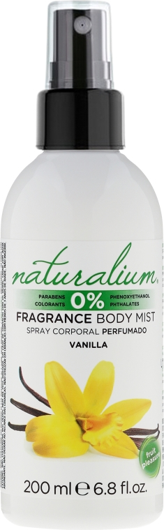 Sprej na telo - Naturalium Vainilla Body Mist