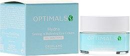 Voňavky, Parfémy, kozmetika Zvlhčujúci krém pre očné viečka pre všetky typy pleti - Oriflame Optimals Hydra