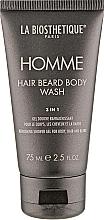 Voňavky, Parfémy, kozmetika Gél na telo, vlasy a bradu - La Biosthetique Homme Hair Beard Body Wash