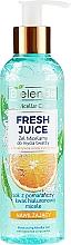 """Voňavky, Parfémy, kozmetika Hydratačný micelárny gél """"Pomaranč"""" - Bielenda Fresh Juice Micellar Gel Orange"""
