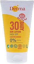 Voňavky, Parfémy, kozmetika Detský krém s ochranou pred slnkom SPF 30 - Derma Eco Baby Mineral SPF 30