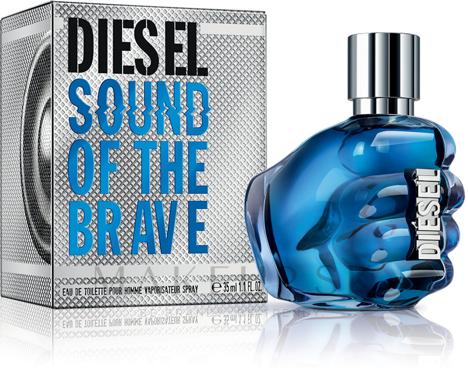 Diesel Sound Of The Brave - Toaletná voda  — Obrázky 35 ml
