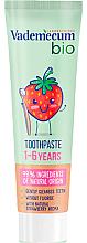 Voňavky, Parfémy, kozmetika Bio detská zubná pasta - Vademecum Bio Toothpaste