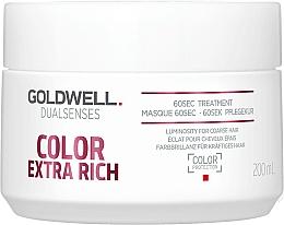 Voňavky, Parfémy, kozmetika Intenzívna maska pre farbené vlasy - Goldwell DualSenses Color Extra Rich 60sec Treatment