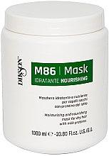 Voňavky, Parfémy, kozmetika Hydratačná a výživná maska pre suché vlasy s mliečnymi proteínmi - Dikson M86 Nourishing Mask