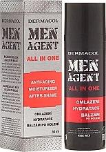 Voňavky, Parfémy, kozmetika Krém-balzam na tvár - Dermacol Men Agent All In One