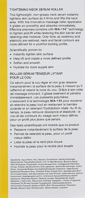 Sérum s valčekom na krk - StriVectin Tighten & Lift Tightening Neck Serum Roller — Obrázky N2