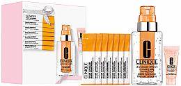 Voňavky, Parfémy, kozmetika Sada - Clinique Supercharged Skin Your Way (f/gel/115ml + f/conc/10ml + cl/powder/0.5gx7 + eye/conc/5ml)