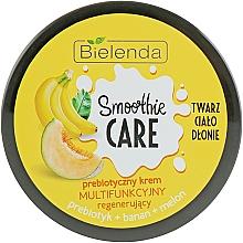 """Voňavky, Parfémy, kozmetika Energizujúci krém na telo """"Banán a melón"""" - Bielenda Smoothie Care"""