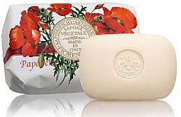 """Voňavky, Parfémy, kozmetika Prírodné mydlo """"Mak"""" - Saponificio Artigianale Fiorentino Poppy Soap"""
