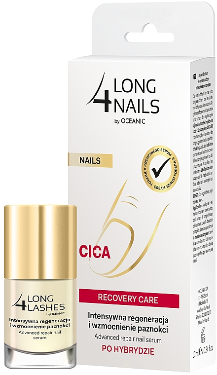 Sérum na nechty - Long4Lashes Nails Cica Recovery Care — Obrázky N3