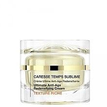 Voňavky, Parfémy, kozmetika Anti-age krém obnovujúci pružnosť pokožky - Qiriness Caresse Temps Sublime