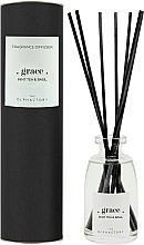 Voňavky, Parfémy, kozmetika Aromatický difúzor - Ambientair The Olphactory Black Grace Mint Tea & Basil