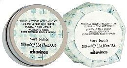 Voňavky, Parfémy, kozmetika Modelovacia hlina pre trvanlivý matný povrch - Davines More Inside Strong Moulding Clay