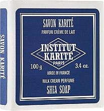"Voňavky, Parfémy, kozmetika Mydlo ""Milk Cream"" - Institut Karite Milk Cream Shea Soap"