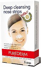 Voňavky, Parfémy, kozmetika Čistiace pásky na nos - Purederm Deep Cleansing Nose Pore Strips