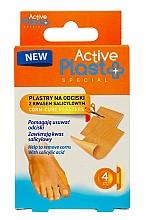 Voňavky, Parfémy, kozmetika Náplasti na pľuzgiery s kyselinou salicylovou - Ntrade Active Plast Special Corn-Cure Plasters For Cutting