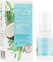 Voňavky, Parfémy, kozmetika Sérum na vlasy s kokosovou vodou - Marion Enjoy Coco Serum