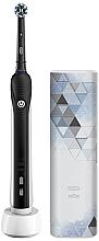 Voňavky, Parfémy, kozmetika Elektrická zubná kefka - Oral-B Pro 750 Cross Action Black