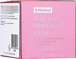 Voňavky, Parfémy, kozmetika Krém na tvár s kyselinami a ibištekom - By Wishtrend Acid-Duo Hibiscus 63 Cream