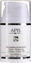 Voňavky, Parfémy, kozmetika Zmes kyselín na peeling - APIS Professional Fit + Pirogron + Milk + Ferulic 40%