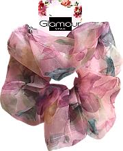 Voňavky, Parfémy, kozmetika Gumička do vlasov, 417615, ružová - Glamour