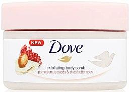Zmäkčujúci scrub na telo - Dove Exfoliating Body Scrub Pomegranate Seeds & Shea Butter — Obrázky N2