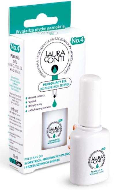 Zmäkčujúci gél s jemným exfoliačným účinkom na kožičku a nechty - Laura Conti — Obrázky N3