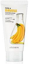 Voňavky, Parfémy, kozmetika Čistiaca pena z banánov - It's Skin Have a Banana Cleansing Foam