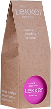 """Voňavky, Parfémy, kozmetika Prírodný krémový dezodorant """"Levanduľa"""" - The Lekker Company Natural Lavender Deodorant"""