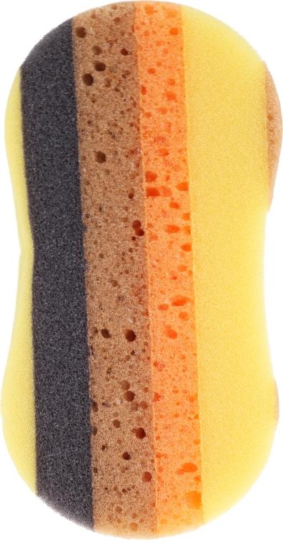 Sprchová hubka 6047, žltá - Donegal — Obrázky N1