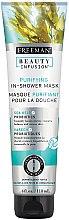 """Voňavky, Parfémy, kozmetika Čistiaca maska na tvár """"Probiotiká + morské riasy"""" - Freeman Feeling Beautiful Purifying In-Shower Mask Sea Kelp + Probiotics"""