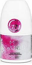 Voňavky, Parfémy, kozmetika Vittorio Bellucci Miss World - Parfumovaný dezodoranť roll-on