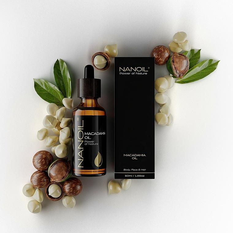 Makadamiový olej - Nanoil Body Face and Hair Macadamia Oil — Obrázky N4