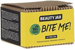 Voňavky, Parfémy, kozmetika Scrub na pery s kokosovým a bambuckým maslom - Beauty Jar Bete Me Lip Peeling