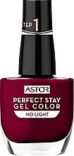 Voňavky, Parfémy, kozmetika Gél lak na nechty bez UV / LED lampy - Astor Perfect Stay Gel Color Nail Polish