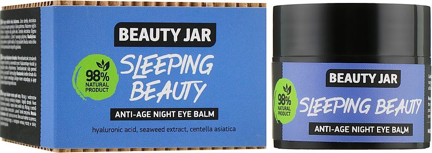 "Nočný balzam proti starnutiu ""Sleeping Beauty"" - Beauty Jar Anti-Age Night Eye Balm"