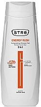 Voňavky, Parfémy, kozmetika Sprchový gél 3 v 1 - STR8 Energy Rush Invigorating Shower Gel 3 in 1