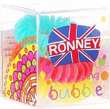 Voňavky, Parfémy, kozmetika Gumičky do vlasov, 3,5 cm - Ronney Professional S23 MAT