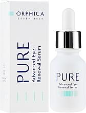 Voňavky, Parfémy, kozmetika Sérum na pokožku okolo očí - Orphica Pure Advanced Eye Renewal Serum