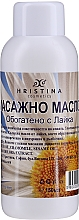 Voňavky, Parfémy, kozmetika Masážny olej s harmančekom - Hristina Cosmetics Chamomile Massage Oil