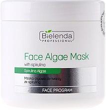 Voňavky, Parfémy, kozmetika Alginátová maska na tvár so spirulinou - Bielenda Professional Algae Spirulina Face Mask